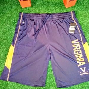 Virginia Cavs NCAA Dry Fit Athletic Shorts New